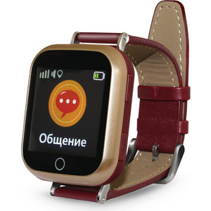 Детские умные часы Ginzzu GZ-521 brown смарт часы ginzzu gz 521 коричневый
