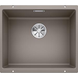 Мойка кухонная Blanco SubLine 500-u серый беж (523439/517434) цена и фото