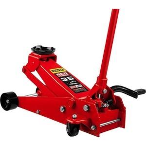 Домкрат гидравлический подкатной Stayer 3,5т Red Force с педалью (43155-3.5)
