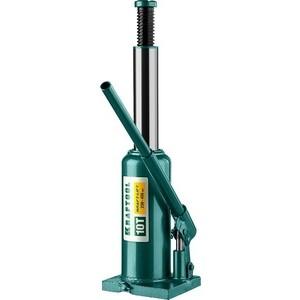 Домкрат гидравлический бутылочный Kraftool 10т, Kraft-Lift (43462-10-z01) домкрат гидравлический бутылочный kraftool 12т kraft lift 43462 12 z01