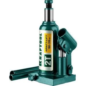 Домкрат гидравлический бутылочный Kraftool 2т, Kraft-Lift (43462-2-z01) домкрат гидравлический бутылочный kraftool 12т kraft lift 43462 12 z01