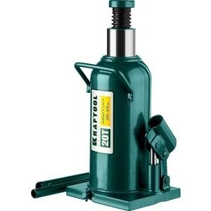 Домкрат гидравлический бутылочный Kraftool 20т, Kraft-Lift (43462-20-z01) домкрат гидравлический бутылочный kraftool 12т kraft lift 43462 12 z01