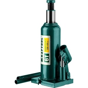 Домкрат гидравлический бутылочный Kraftool 6т, Kraft-Lift (43462-6-z01) домкрат гидравлический бутылочный kraftool 12т kraft lift 43462 12 z01