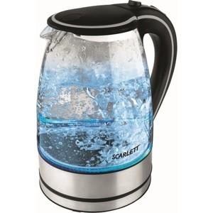 Чайник электрический Scarlett SC-1024 чёрный чайник электрический scarlett sc ek27g16