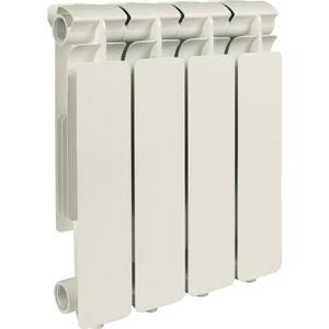 Радиатор отопления STOUT Bravo 350 4 секции алюминиевый боковое подключение радиатор отопления алюминиевый halsen 350 80 12
