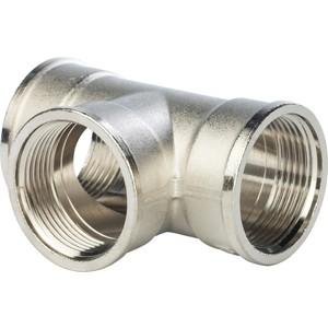 Тройник STOUT ВВ никелированный 1 1/4 (SFT-0020-000114) stout футорка 2x11 4