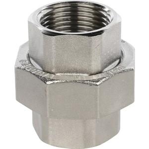Разъемное соединение STOUT американка ВВ никелированное 1 (SFT-0034-000001) настенная плитка lb ceramics оникс 1045 0034 25x45