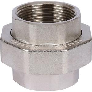 Разъемное соединение STOUT американка ВВ никелированное 1 1/2 (SFT-0034-000112) настенная плитка lb ceramics оникс 1045 0034 25x45