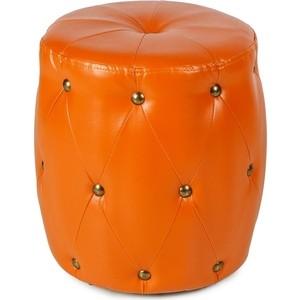 Пуф Вентал Арт ПФ-6 (круглый) оранжевый цена