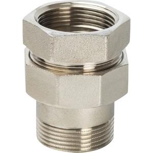 Разъемное соединение STOUT американка ВН никелированное уплотнение под гайкой o-ring кольцо 1 1/2 (SFT-0041-000112) разъемное соединение stout американка вв никелированное 2 sft 0034 000002