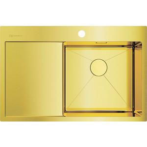 Мойка кухонная Omoikiri Akisame 78-LG-R, 780*510, светлое золото (4973086)