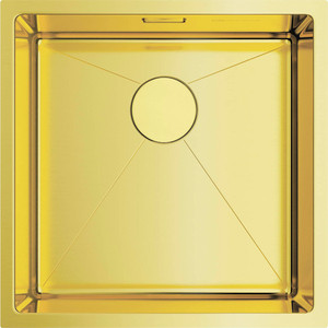 Мойка кухонная Omoikiri Taki 44-U/IF-LG, 440*440, светлое золото (4973520) кухонная мойка omoikiri taki 38 u if lg 380х440 светлое золото 4973092