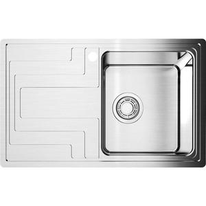 Мойка кухонная Omoikiri Mizu 78-1-R, 780*480, нержавеющая сталь (4973003) стоимость