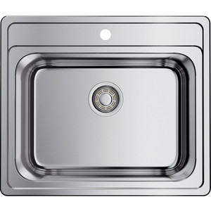 Мойка кухонная Omoikiri Ashi 56-IN, 560*480, нержавеющая сталь (4993449) кухонная мойка ukinox clm 560 435 5k 2l