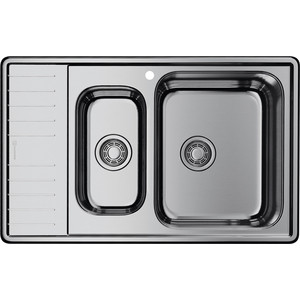 Мойка кухонная Omoikiri Sagami 79-2-IN-R, 790*500, нержавеющая сталь (4993550) стоимость