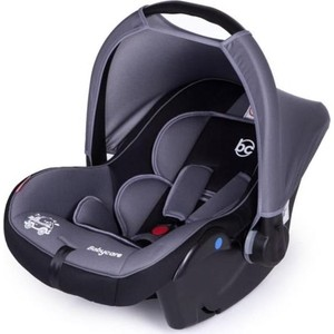Автокресло Baby Care Lora гр 0+, 0-13кг Серый/Черный автокресло baby care baby care автокресло rubin серый черный