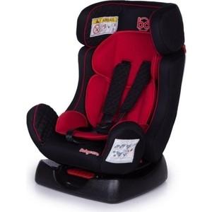 Автокресло Baby Care Nika гр 0+/I/II, 0-25кг Черный/Красный автокресло baby care rubin