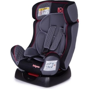 Автокресло Baby Care Nika гр 0+/I/II Черный/Серый 1023 автокресло baby care rubin гр 0 i 0 18кг черный серый 1004