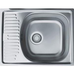 Мойка кухонная Franke ETL 611-56 3 1/2 перелив нерж лайнен (101.0174.550)