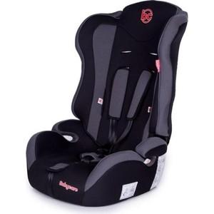 Автокресло Baby Care Upiter без вкладыша гр I/II/III Черный/Серый автокресло baby care rubin гр 0 i 0 18кг черный серый 1004