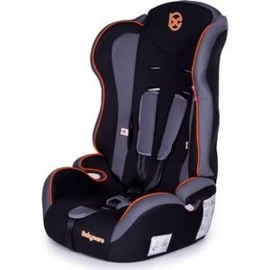 Автокресло Baby Care Upiter без вкладыша гр I/II/III Черный/Оранжевый автокресло baby care upiter plus гр i ii iii 9 36кг черный серый