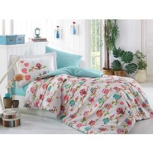 Комплект постельного белья Hobby home collection 1,5 сп, поплин, Candy розовый (1501001316) комплект постельного белья hobby home collection 1 5 сп поплин susana розовый 1501000177
