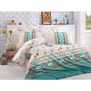 Комплект постельного белья Hobby home collection 1,5 сп, поплин, Francesca зелёный (1501001576)