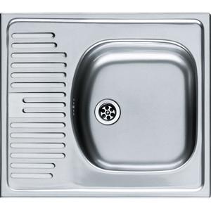 Мойка кухонная Franke ETN 611-58 1 1/2 перелив нерж матовая (101.0009.362)