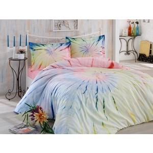 Комплект постельного белья Hobby home collection Евро, поплин, Batik Helezon розовый (1501001588)