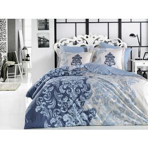 Комплект постельного белья Hobby home collection Евро, поплин, Mirella синий (1501001703)
