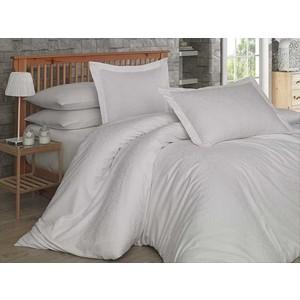 Комплект постельного белья Hobby home collection 1,5 сп, сатин-жаккард, Damask кремовый (1501001444)