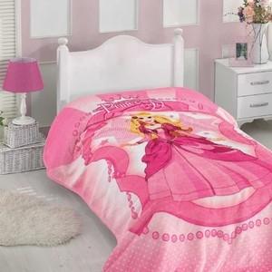 Покрывало Hobby home collection жаккард велсофт 1,5 сп. Prenses розовый (1501001791) детское постельное белье hobby home collection 1 5 сп с покрывалом жаккард vienna