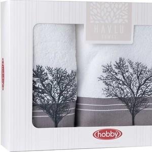 Набор из 2 полотенец Hobby home collection Infinity (50x90/70x140) белый (1501001828) объектив infinity scv 550g 1 3 5 0 50 0 17990