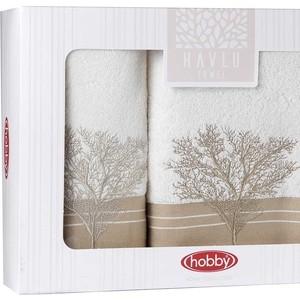 Набор из 2 полотенец Hobby home collection Infinity (50x90/70x140) кремовый (1501001829) объектив infinity scv 550g 1 3 5 0 50 0 17990