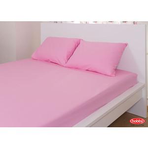 Набор из простыни и наволочек Hobby home collection (160x200/50x70-2) розовый (1501000727) набор из простыни и наволочек hobby home collection 160x200 50x70 2 синий 1501000726