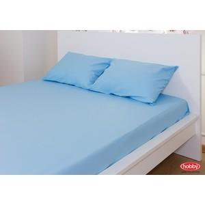 Набор из простыни и наволочек Hobby home collection (160x200/50x70-2) синий (1501000726) набор из простыни и наволочек hobby home collection 160x200 50x70 2 синий 1501000726