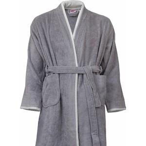 Халат универсальный Hobby home collection махровый Sude XXL серый (1501001836) цены