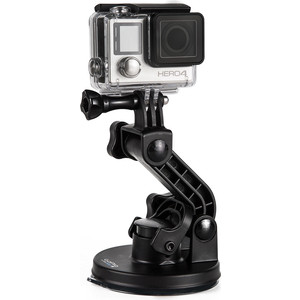 Крепление с присоской GoPro Suction Cup Mount (AUCMT-302) 360 degree rotation car suction cup holder bracket for iphone samsung htc lg green