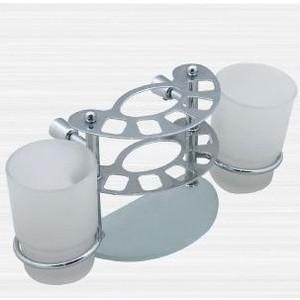 Держатель зубных счеток RainBowL Aqua к стене (стекло) (0039-4) 0039 55w