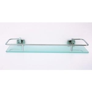 Полка RainBowL Cube стекло 40 см с ограничителем (2753-3) colibri полка cube