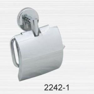 Держатель туалетной бумаги RainBowL Long с ограничителем (2242-1)