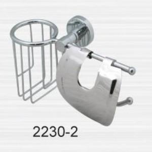 Держатель туалетной бумаги RainBowL Long с освежителем (2230-2) держатель туалетной бумаги rainbowl otel с ограничителем d2542 1