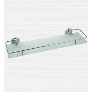 Полка RainBowL Otel стекло с ограничителем 60 см (2553-2) держатель туалетной бумаги rainbowl otel с ограничителем d2542 1
