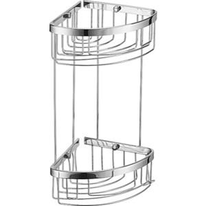 Полка-решетка RainBowL 2-этажная 15/15 см (15*15/G) димефосфон 15