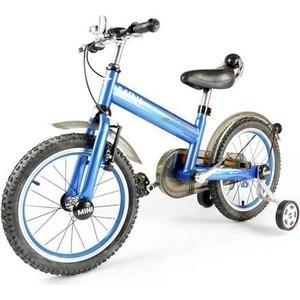 Rastar Детский двухколесный синий велосипед - RSZ1602LA детский велосипед riverbike f 18 красный rivertoys