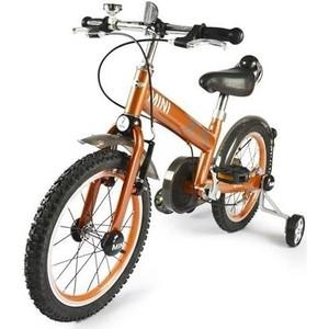 Rastar Детский двухколесный оранжевый велосипед - RSZ1602SO детский велосипед riverbike f 18 красный rivertoys