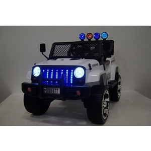 RiverToys Jeep белый