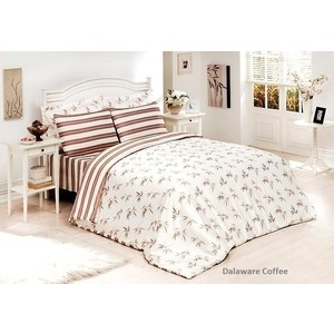 Комплект постельного белья Le Vele 2-х сп, бамбук, Delawera Coffe (1294) giudi 7268 crf col 03