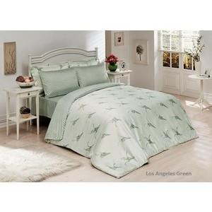 Комплект постельного белья Le Vele 2-х сп, бамбук, Los Angeles Green (1299) los cachorros