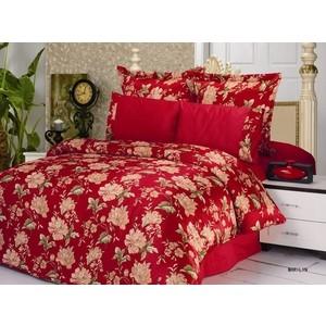 Комплект постельного белья Le Vele 2-х сп, сатин/жатый шелк, Marilyn (743/14) комплект постельного белья le vele 2 х сп сатин luzan 746 4 char001